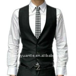heißer fantastischer formaler Mens der Baumwolle 2012black stilvolle Weste