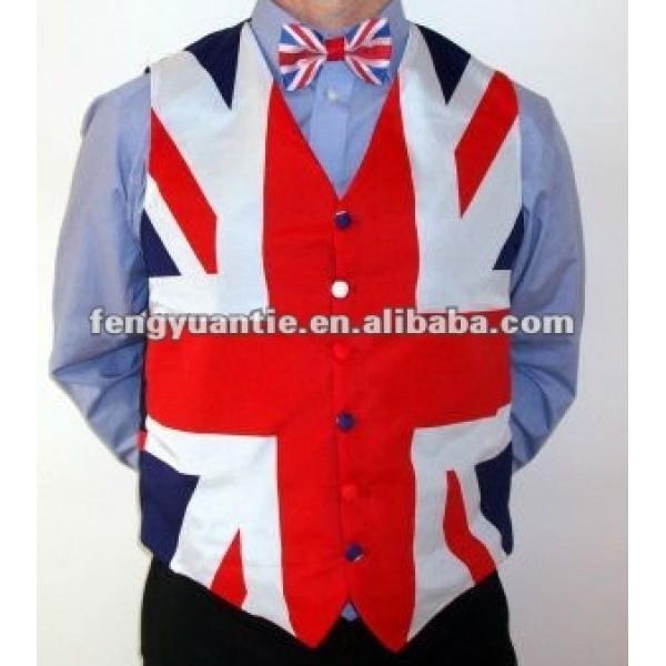 Herr britische Polyester-Westeweste
