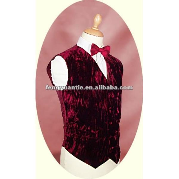 chaleco rojo del chaleco del regalo del bussiness de los hombres formales