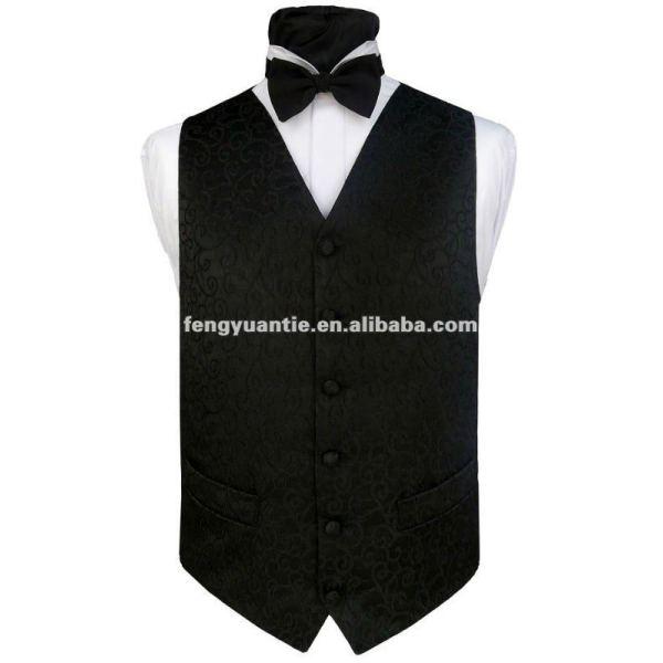 Men`s black night fashion airsoft vest