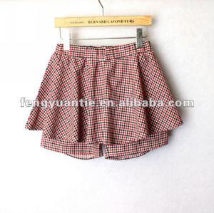 la chica de moda falda pantalón corto