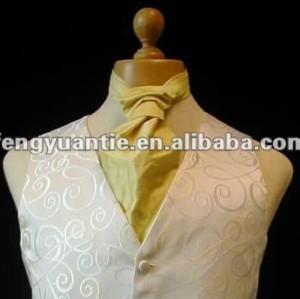 Männer `s der weißen Paisley vestwedding Klageweste Hochzeitsklage