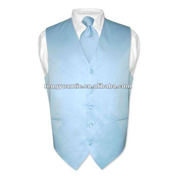 Bester Mens, der blaue formale Weste wedding ist