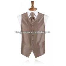2012 purpurrote Hochzeitswesten des besten Mens-Polyester für Männer