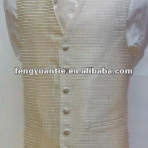 Abkühlende silk Elfenbeinweste für Männer