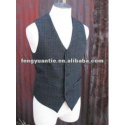 o mens 100% do algodão investe waistcoats do xxl