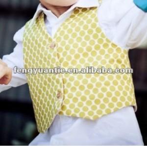 100% t/r de bebé niño chaleco