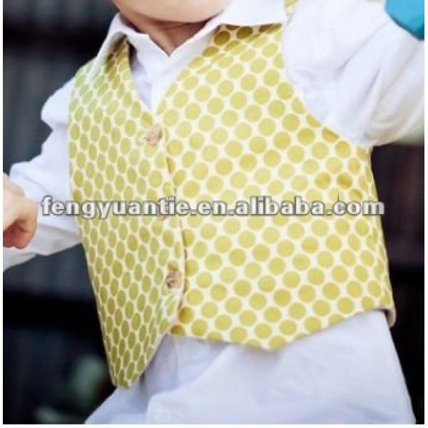 100% T/R baby boy waistcoat