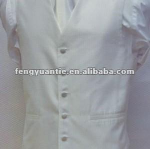 weiße beiläufige Weste 100% des Polyester