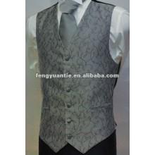 weiße Hochzeitsweste 100% und -riegel des Polyester