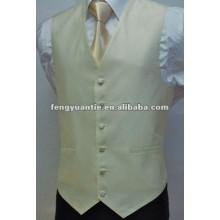 Hochzeitswestesoem 100% des Polyester weißes