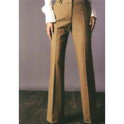 Ladys calças formal uniforme calças das mulheres
