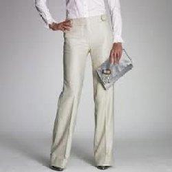 Ladysの形式的なズボン100本のポリエステル最もよいズボン