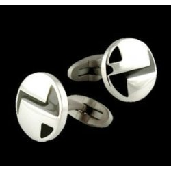 2012 fashion mens metal cufflinks
