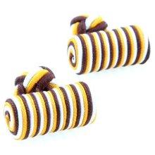 2013 formal mens custom silk knot cufflinks