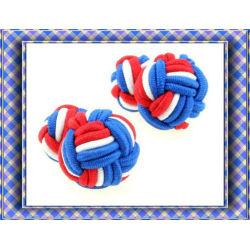 Hot saling mens silk knot silk button