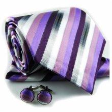 2012 para hombre de moda pañuelo corbata gemelos