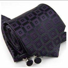 2012 fashion mens silk ties and cufflinks