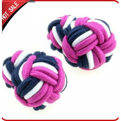 2012 fashion mens silk knot cufflinks