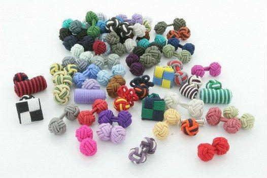Silk_knot_cufflinks. Jpg