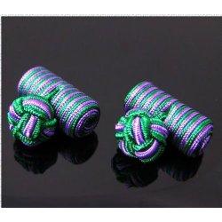 nova combinação de seda kont cufflink design