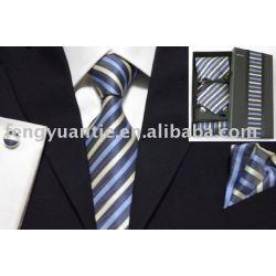 Seide gesponnener Krawattensatz