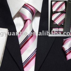 Seide gesponnener Krawattengeschenkkasten
