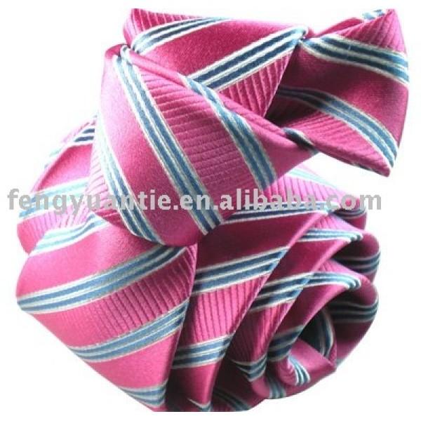 corbata de la seda de la raya