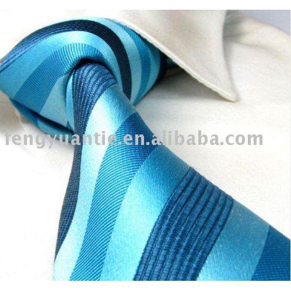 tejido de seda corbata logotipo de la empresa empate