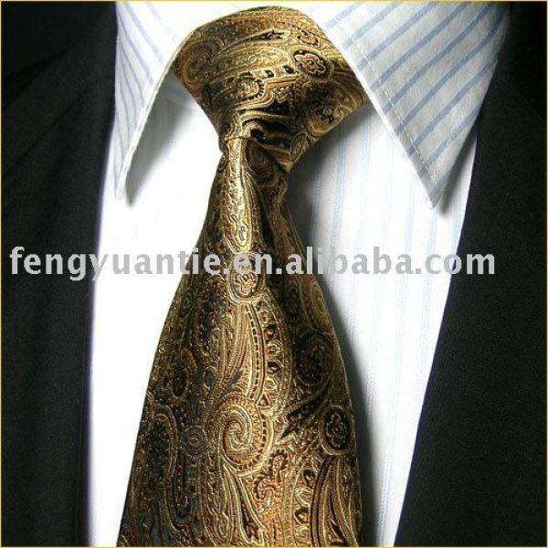 corbata de seda, corbata del diseñador, lazos de la marca