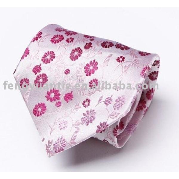 corbata de seda tejido