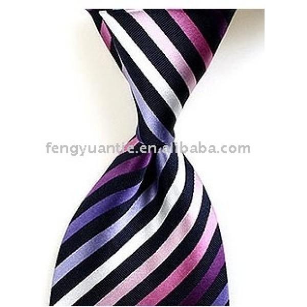 tejido de seda corbatas personalizado