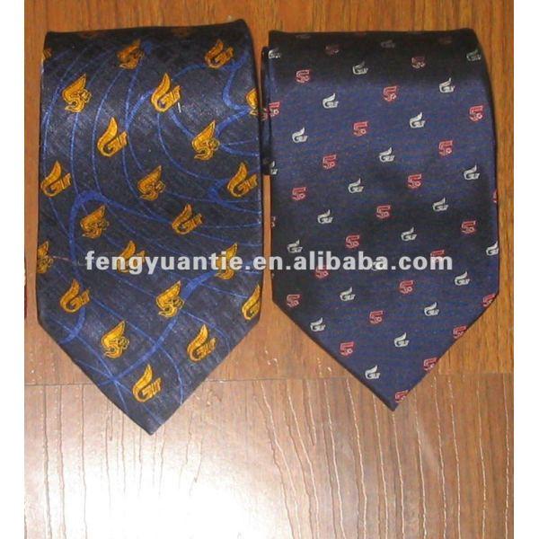 tejido de seda corbata logo