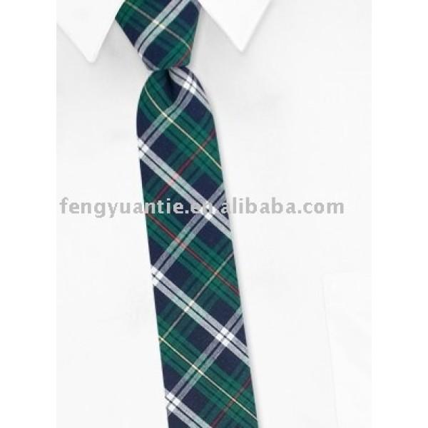 corbata uniforme tejida seda