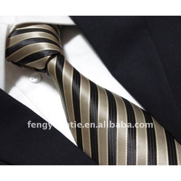 100% hombres corbata de seda