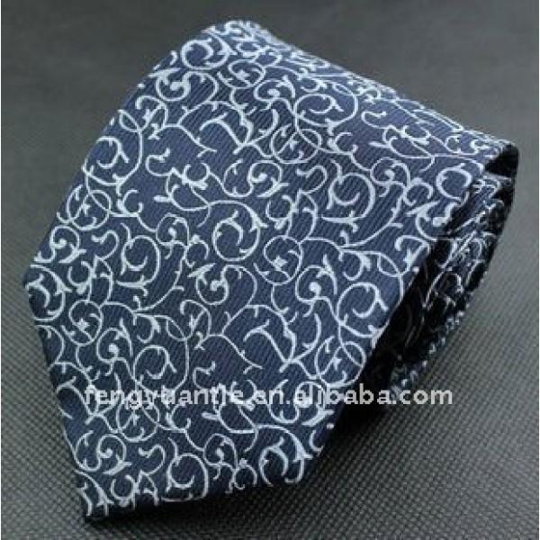 cravate en soie tissée, cravate de concepteur, cravates de nom de marque