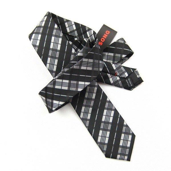 編まれた絹製ネクタイ、ネクタイ