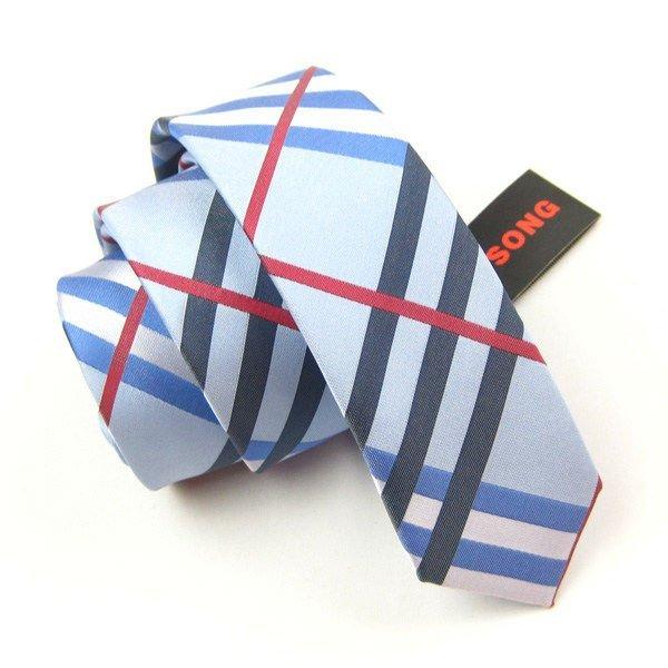 lazo de seda flaco de la manera, corbata