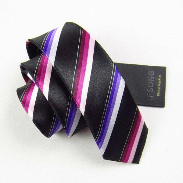 Flaco moda corbata de seda, corbata