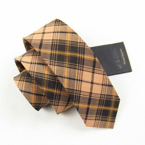 cravate en soie maigre de mode, cravate