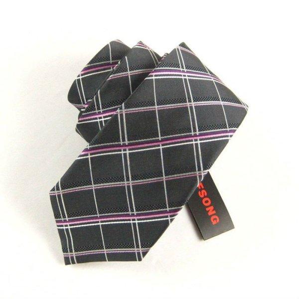 Moda cravatta di seta controllato, cravatta