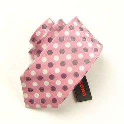 cravate en soie vérifiée par mode, cravate