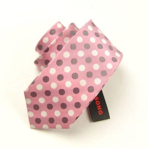 lazo de seda comprobado manera, corbata