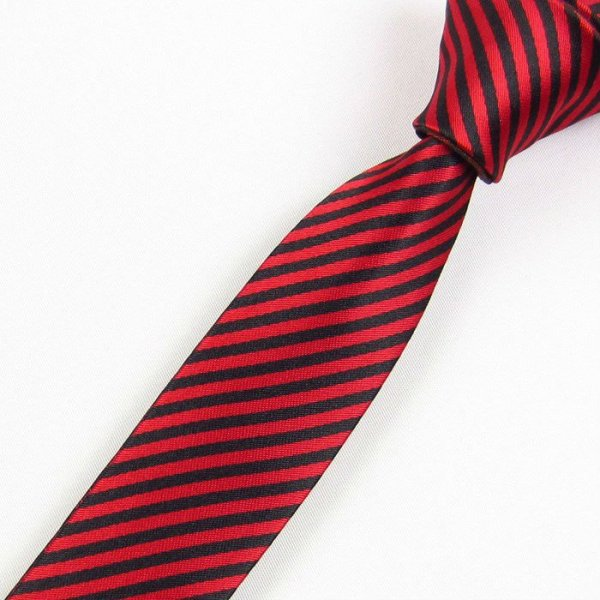 moda cravatta di seta magro