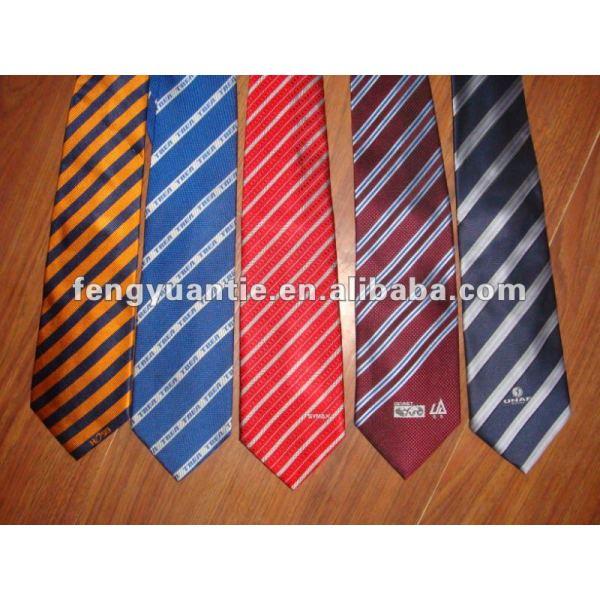 de color rosa comprobar tejido de seda logotipo personalizado corbata de seda