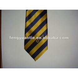 Marinha de seda tecido logotipo personalizado laços