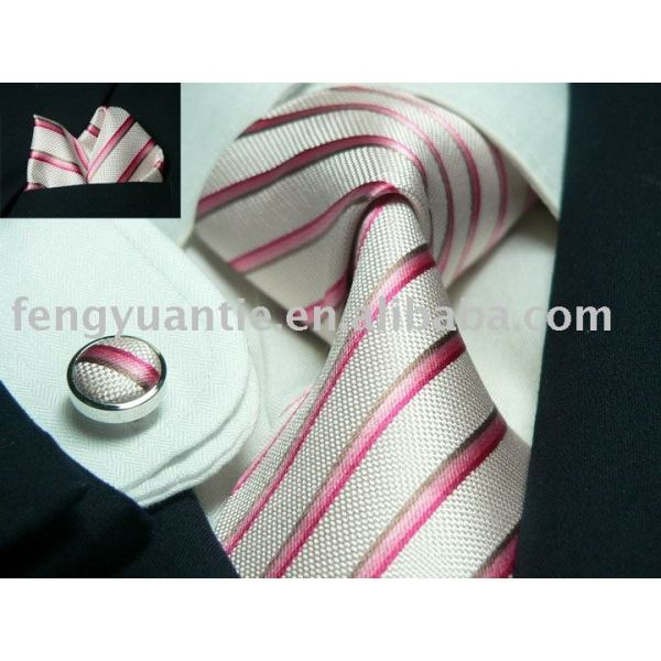 Set de regalo, de lujo conjunto de corbata, corbata de seda conjunto