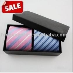 2 pezzi set cravatta custodia da viaggio set di cravatta