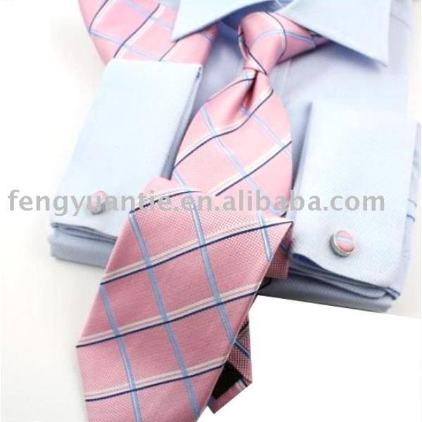 ensemble de cadeau, ensemble de luxe de cravate, ensemble de cravate en soie