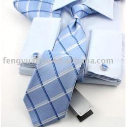 Jogo do presente, luxo tie set, gravata de seda set